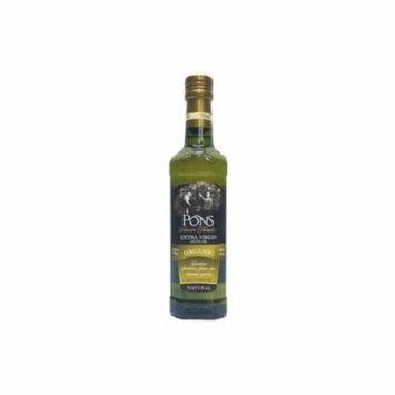 PONS Seleccion Familiar Organic Extra Virgin Olive Oil - 17 fl. oz