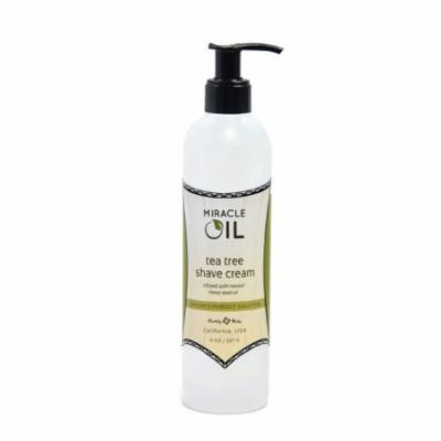 Earthly Body Miracle Oil Shave Cream, 8 oz.