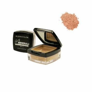 (6 Pack) KLEANCOLOR Airy Minerals Loose Powder Foundation - Amber