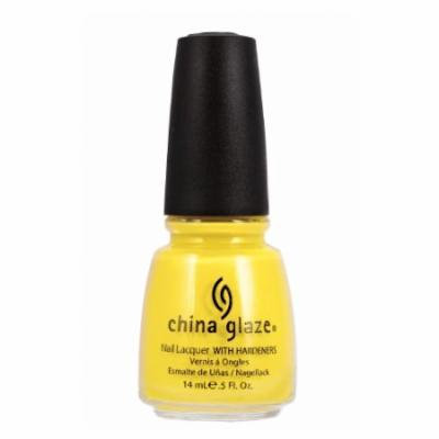 (6 Pack) CHINA GLAZE Nail Lacquer with Nail Hardner 2 - Happy Go Lucky