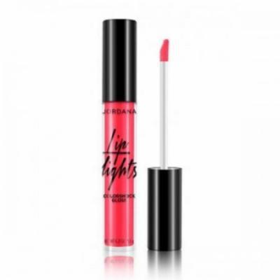 JORDANA Lip Lights Colorshock Gloss - Hot Pink Blaze