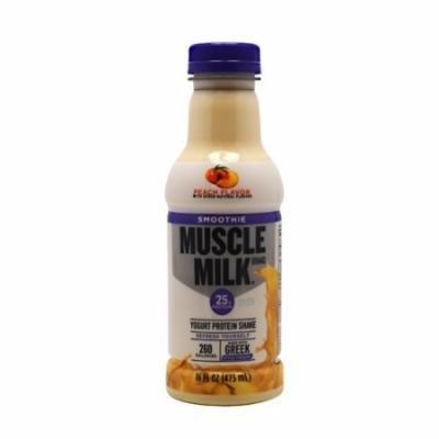 CytoSport Muscle Milk Smoothie, Peach, 12 Bottles