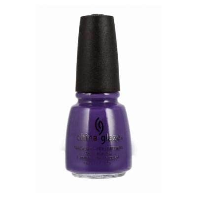 (6 Pack) CHINA GLAZE Nail Lacquer with Nail Hardner 2 - Grape Pop