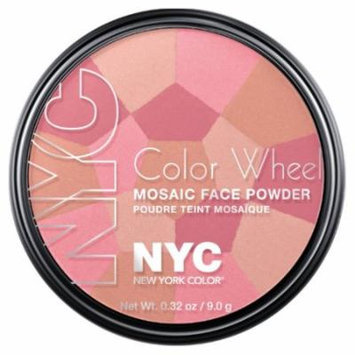 (3 Pack) NYC Color Wheel Mosaic Face Powder - Pink Cheek Glow