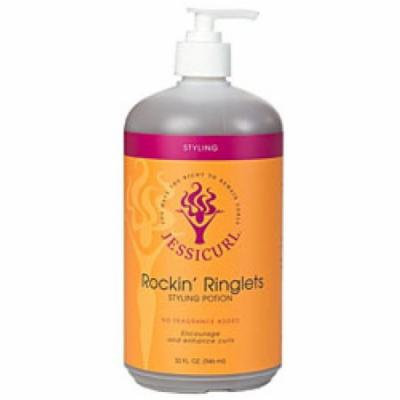 Jessicurl Rockin' Ringlets Styling Potion, No Fragrance, 32 fl. oz.