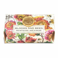 Michel Design Works Blooms and Bees Large Bath Soap Bar