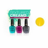 (6 Pack) MILANI Texture Creams Specialty Nail Lacquer - Limited Edition Collection - Yellow Mark