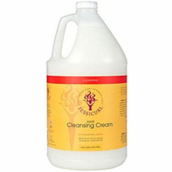 Jessicurl Hair Cleansing Cream, Citrus Lavendar, Gallon.