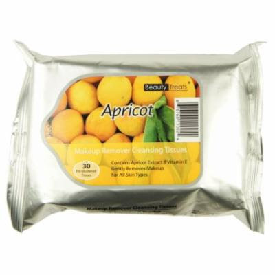 BEAUTY TREATS Makeup Remover Cleansing Tissues - Apricot
