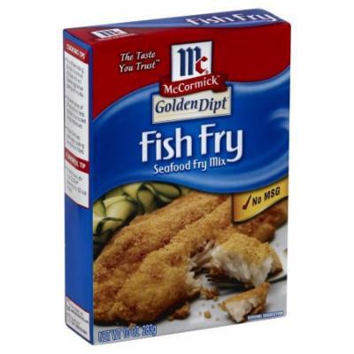Golden Dipt Fry Mix, Seafood, Fish Fry, 10 OZ (Pack of 1)