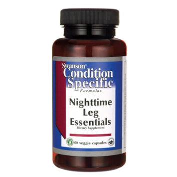 Swanson Nighttime Leg Essentials 60 Veg Caps