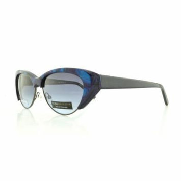 BCBG Sunglasses VAMP Blue Multi 54MM