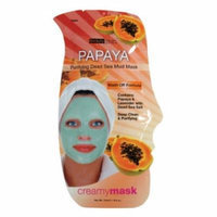 (3 Pack) BEAUTY TREATS Papaya Purifying Dead Sea Mud Mask - Papaya