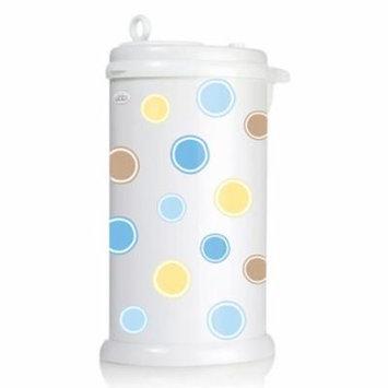 Ubbi Diaper Pail Decals - Blue Bubbles