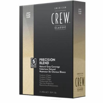 American Crew Precision Blend Reinventing Hair Color For Men Kit, Light (7-8)