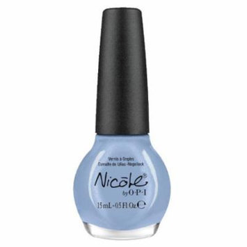 Nicole by OPI Nothing Kim-pares to Blue Nail Lacquer