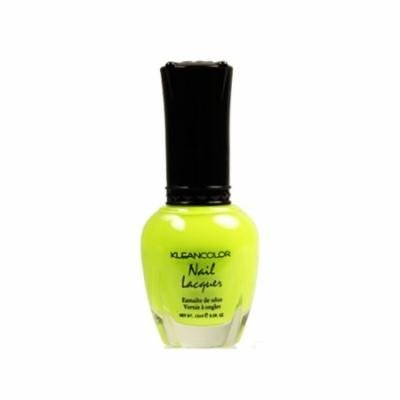 (6 Pack) KLEANCOLOR Nail Lacquer 4 - Neon Lime