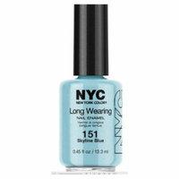 (3 Pack) NYC Long Wearing Nail Enamel - Skyline Blue