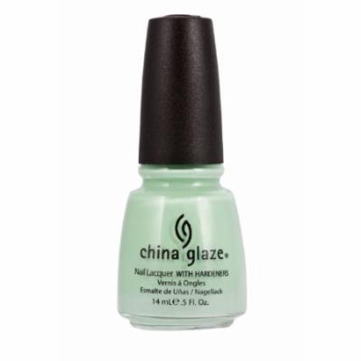 (6 Pack) CHINA GLAZE Nail Lacquer with Nail Hardner 2 - Re-Fresh Mint