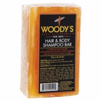 Woody's Hair & Body Shampoo Bar, 8 oz.