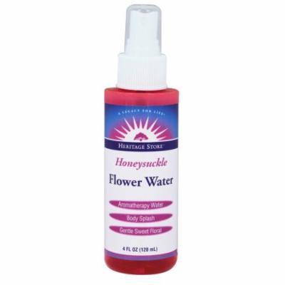 Heritage - Honeysuckle Flower Water - 4 oz.