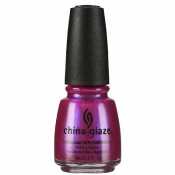 (3 Pack) CHINA GLAZE Nail Lacquer with Nail Hardner - Caribbean Temptation