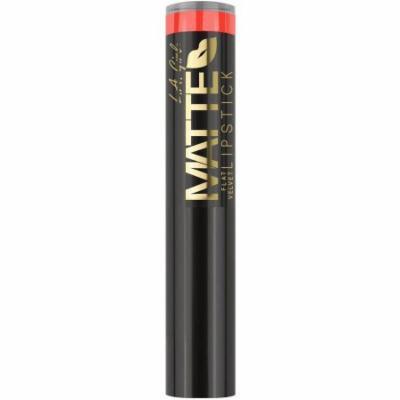 L.A. Girl Matte Flat Velvet Lipstick, 0.1 oz