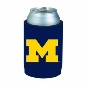 Michigan Wolverines Blue Can Cooler