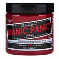 (3 Pack) MANIC PANIC Cream Formula Semi-Permanent Hair Color - Wildfire