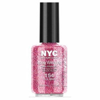 (6 Pack) NYC Long Wearing Nail Enamel - Pink Bling