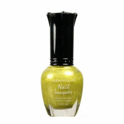 (6 Pack) KLEANCOLOR Nail Lacquer 3 - Holo Yellow