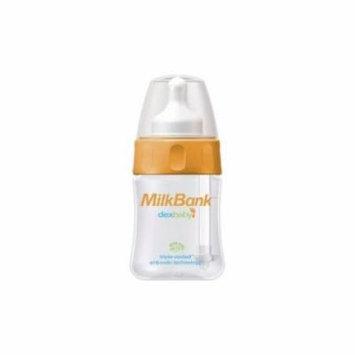 MilkBank BPA Free Vented Feeding Bottles 5 oz Single Pack Multi-Colored