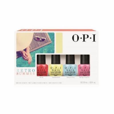 OPI 2016 Retro Summer Collection Mini Nail Lacquer Kit