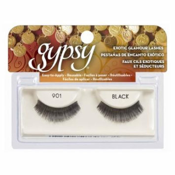 (6 Pack) GYPSY LASHES False Eyelashes - 901 Black