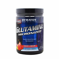 Dymatize Nutrition Micronized Glutamine, Cherry Limeade, 500 Grams (56 Servings)