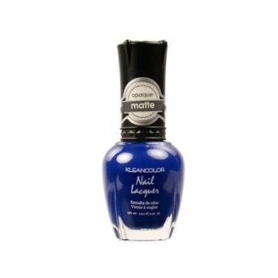KLEANCOLOR Matte Nail Lacquer - Lush Blue