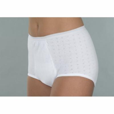Wearever Wearever Women's Super Incontinence PantiesWashable Reusable Bladder Control Briefs - Pack of 3