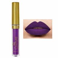 (6 Pack) LA Splash Lip Contour Waterproof Liquid Lipstick - Phantom