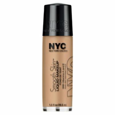 (3 Pack) NYC Smooth Skin Liquid Makeup - Natural Beige
