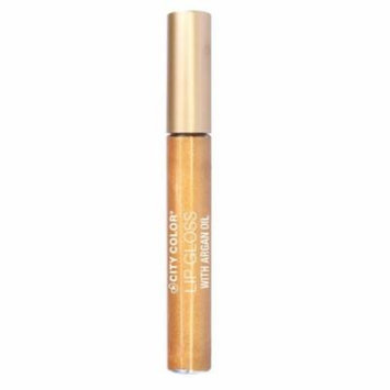 (6 Pack) CITY COLOR Lip Gloss With Argan Oil - Trailblazer