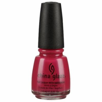 (3 Pack) CHINA GLAZE Nail Lacquer with Nail Hardner - Fuchsia