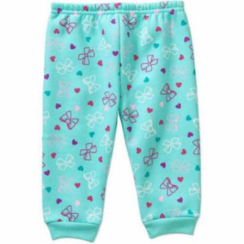Garanimals Newborn Baby Girls' Printed Fleece Pants