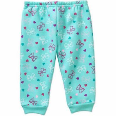 Garanimals Newborn Baby Girls' Printed Fleece Pants