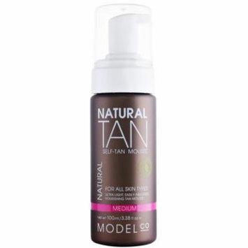 ModelCo Natural Tan Self-Tan Mousse, 3.38 fl. oz.