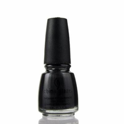 (6 Pack) CHINA GLAZE Nail Lacquer with Nail Hardner - Black Diamond