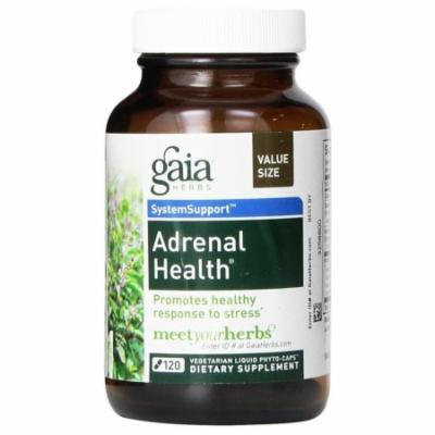 Gaia Herbs Adrenal Health Liquid Phyto-Capsules Supports Stress/Calmness Organic A571201024