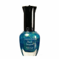 (6 Pack) KLEANCOLOR Nail Lacquer 4 - Chunky Holo Teal