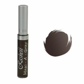 (6 Pack) RASHELL Masc-A-Gray Hair Color Mascara - Warm Brown