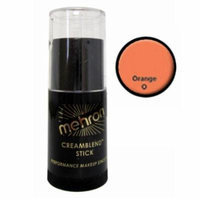 (6 Pack) mehron CreamBlend Stick - Orange