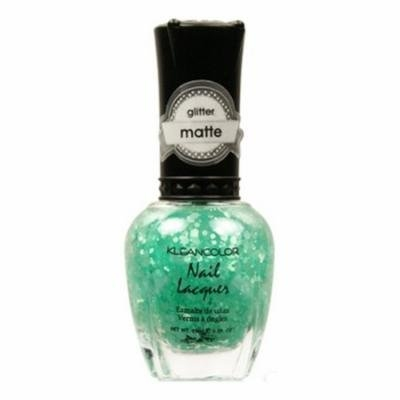 KLEANCOLOR Glitter Matte Nail Lacquer - On-Off Relationship